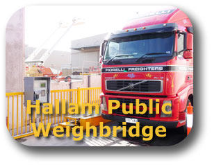 Hallam Public Weighbridge